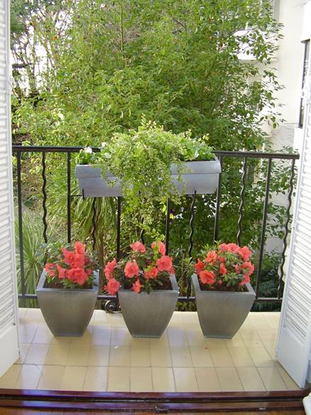Decocasa mexico en un balc n peque o - Decoracion de balcones con plantas ...