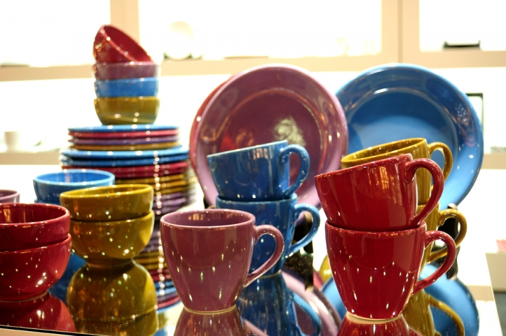 Platos de ceramica modernos plato de ducha rectangular de cermica de estilo moderno a medida - Platos ceramica colores ...