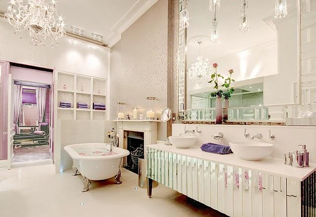 Decocasa Mexico » Femenino y de lujo un baño para nosotras -> Banheiro Feminino Tumblr
