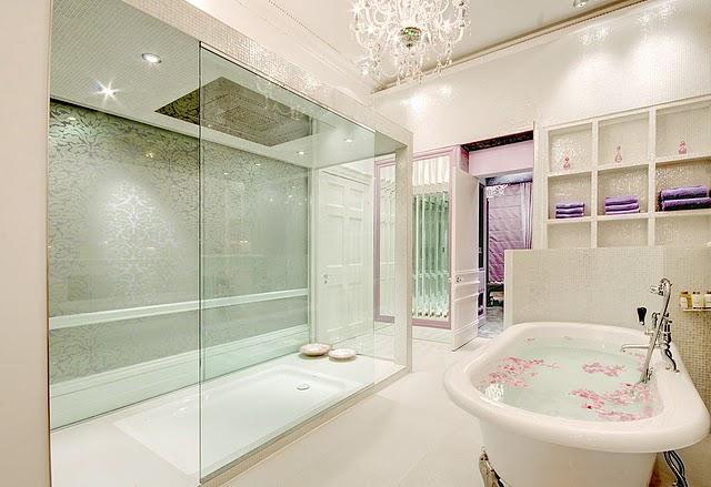 Decocasa Mexico » Femenino y de lujo un baño para nosotras -> Banheiros Ultramodernos