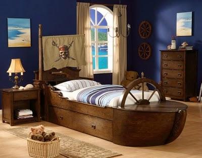 Decocasa mexico camas infantiles barco pirata - Cama barco pirata ...