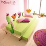 camas-infantiles-flores