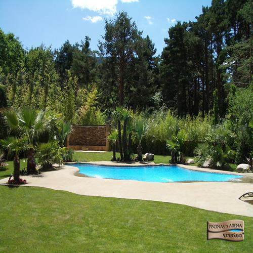 Decocasa mexico piscinas de arena trocito de playa en casa - Cuanto cuesta una piscina de arena ...