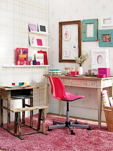 Decocasa mexico espacios de trabajo decorado for Ideas decoracion escritorio