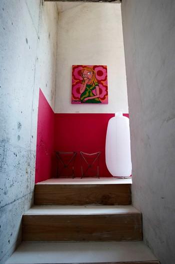 Decocasa mexico descanso de escaleras decorado for Escaleras con descanso para interior