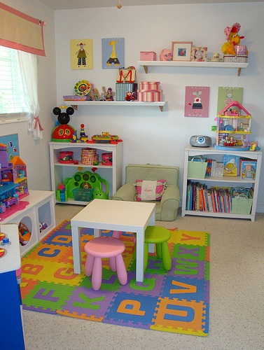 Decocasa mexico playroom - Organizar habitacion infantil ...