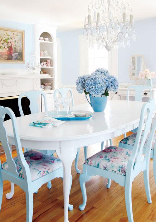 este otro comedor mezcla el estilo antiguo y sofisticado con detalles ms relajados de esta manera mientras que la pared rosa viejo presenta detalles muy - Comedor Vintage