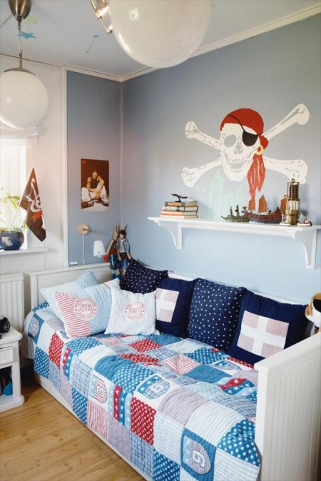 Decocasa mexico dormitorios infantiles de estilo marinero - Dormitorios infantiles pequenos ...