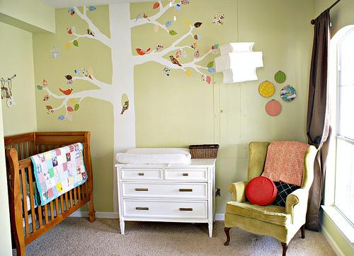 Decocasa mexico un bosque en el dormitorio del beb for Dormitorio infantil bosque