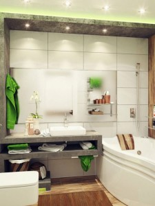 baño estante
