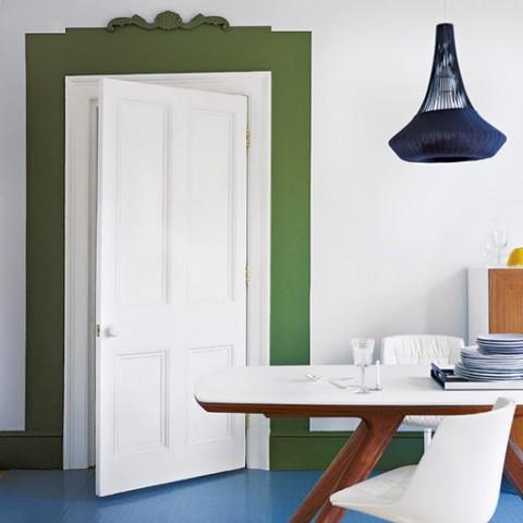 Decocasa mexico a pintar marcos - Pintura para puertas de interior ...
