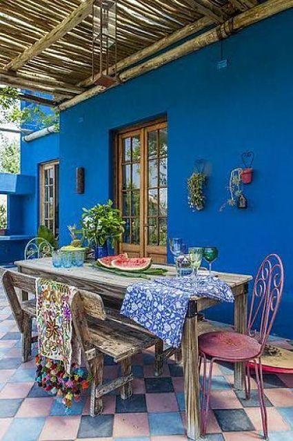 Decocasa mexico jardin for Color de pintura al aire libre casa moderna