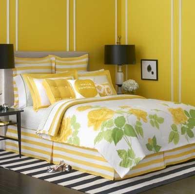 dormitorio-citrico-amarillo