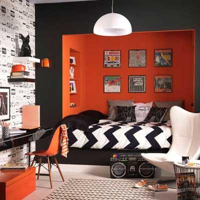 dormitorio- citrico-naranja