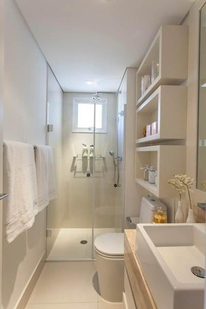 foto-baño pequeño- estantería